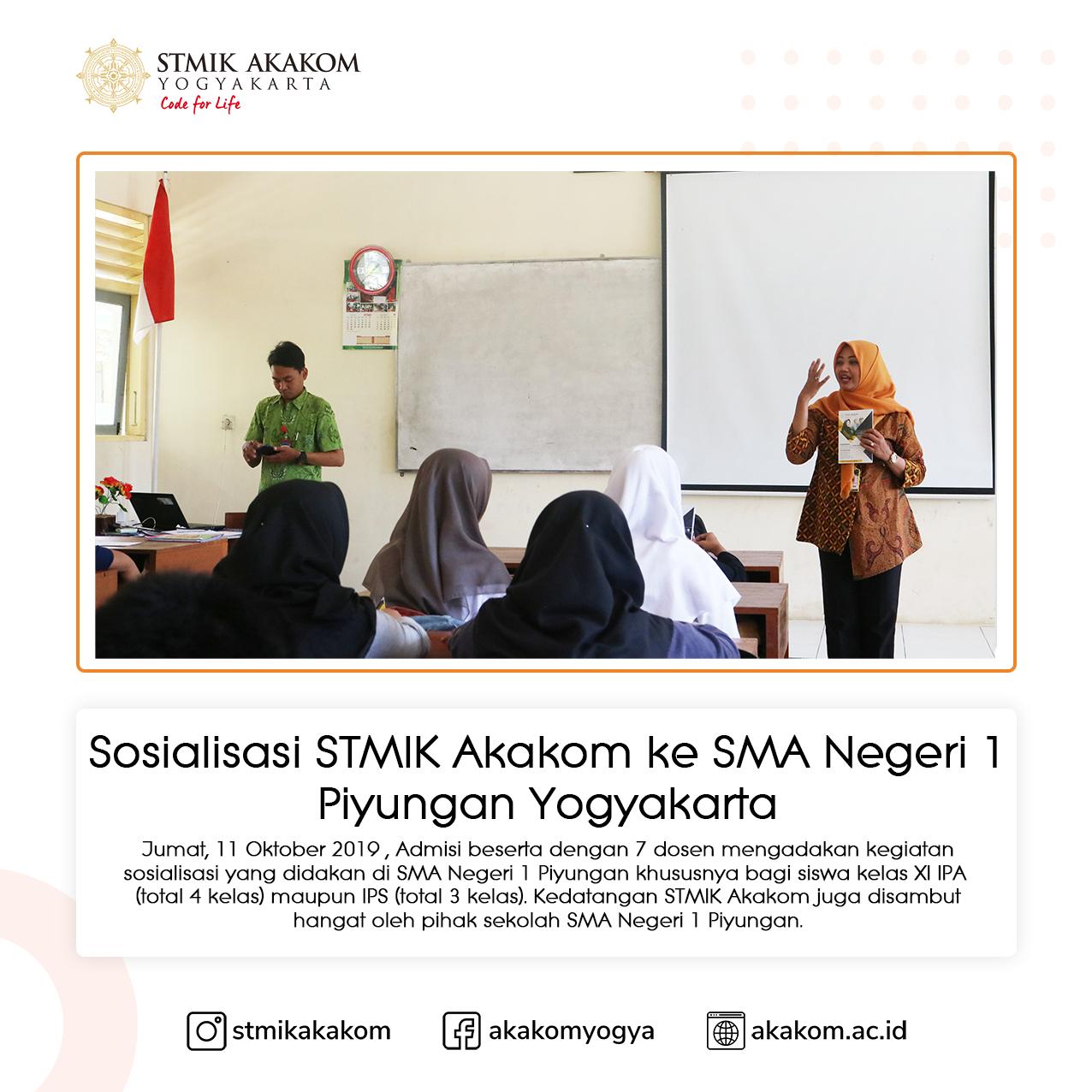 Sosialisasi STMIK Akakom ...