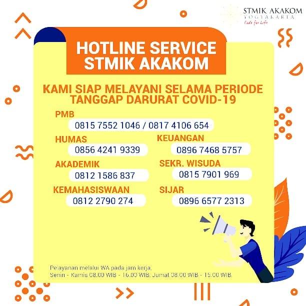 Hotline Service STMIK ...