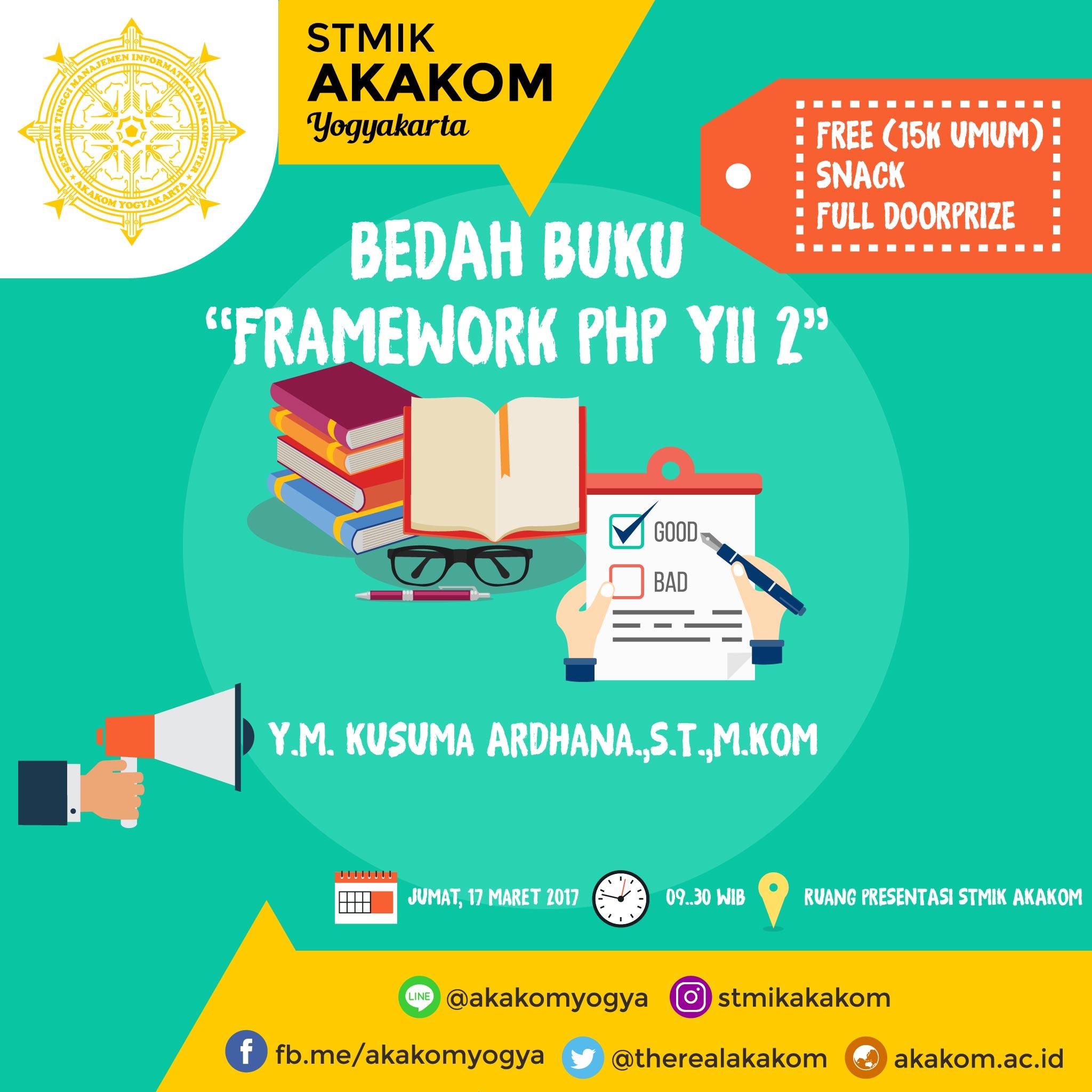 """BEDAH BUKU """"Framework ..."""