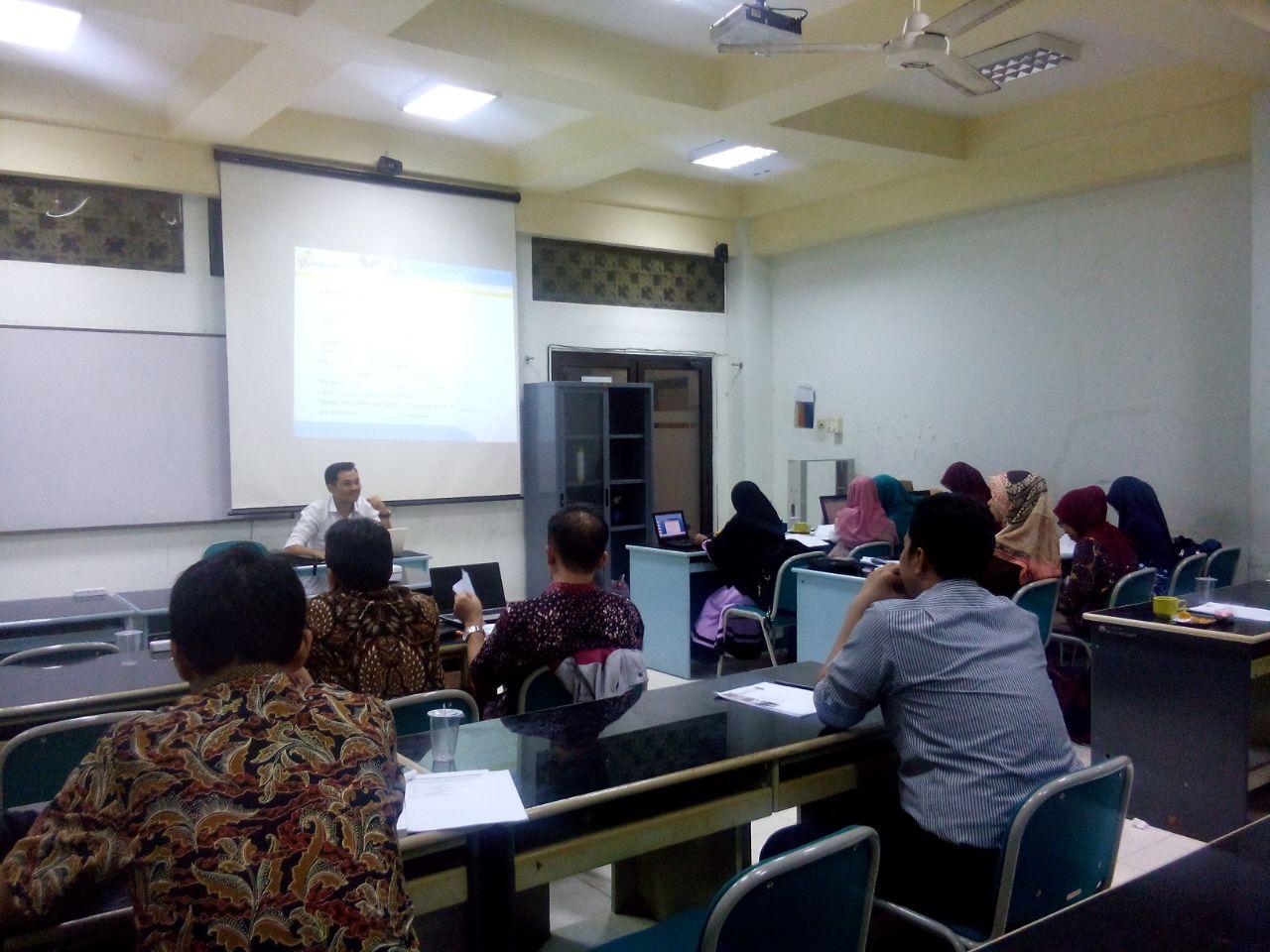 Workshop Training for ...